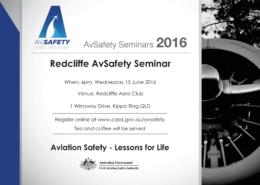 Redcliffe AvSafety Seminar