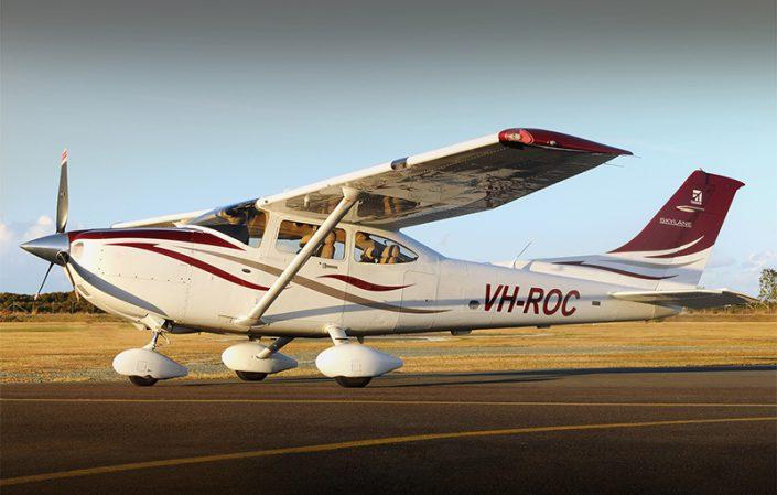 Cessna 182-T (VH-ROC) - Redcliffe Aero Club